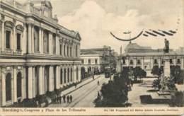 CHILI - Santiago - Congreso Y Plaza De Los Tribunales - Chili