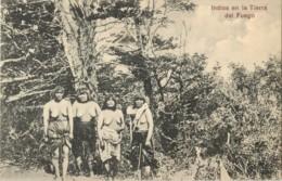 CHILI - Indios En La Tierra Des Fuego - Chili