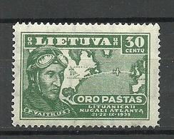 LITHUANIA Litauen 1936 Michel 406 MNH - Lithuania