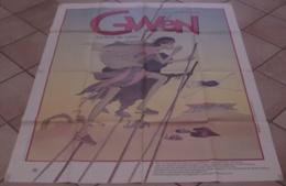 AFFICHE CINEMA ORIGINALE FILM GWEN DESSIN ANIME ANIMATION Jean-François LAGUIONIE 1984 - Affiches & Posters