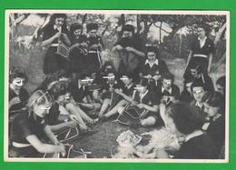 Grecia Greece Propaganda Politica Cpa  Re Giorgio II Anno 1940 Affrancatura Fissa Da 2 Dracme - Eventi