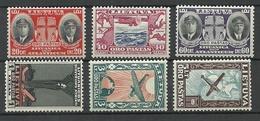 LITAUEN Lithuania 1934 Michel 385 - 390 * - Lituanie