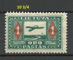 LITAUEN Lithuania 1921 Michel 106 X C * - Lituanie