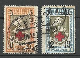 Estland Estonia 1926 Michel 60 - 61 O - Estonie
