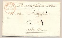 Nederland - 1829 - Omslag Van Dordrecht Naar Arnhem - Nederland