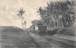 Ceylon - Topo H / 01 - Railway To Mont Lavinia - Sri Lanka (Ceylon)