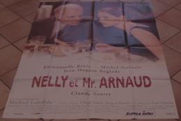 AFFICHE CINEMA ORIGINALE FILM NELLY ET MONSIEUR ARNAUD Claude SAUTET Michel SERRAULT Emmanuelle BEART 1995 - Affiches & Posters
