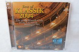 """2 CDs """"Best Of Klassik 2004"""" Die Große Klassik-Gala Mit Den Echo Klassik Preisträgern 2004 - Classical"""