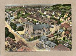CPSM Dentelée - AUDUN-le-TICHE (57) - Vue Aérienne Sur L'Eglise Et Le Bourg En 1962 - Francia