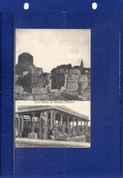 ##(DAN1812)-India- Excavations At Sarnath, Benares - Used 1907 To Fresnoy Le Grand-France-Bombay-Aden Post Office Cancel - India
