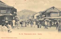 Ceylon - Topo H / 33 - Trincomalee Street - Kandy - Sri Lanka (Ceylon)
