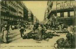 CPA - PARIS MARCHE AUX FRAISES - RUE TURBIGO - EDIT J.H. -  1900s ( BG1671) - District 03