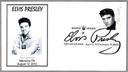 ELVIS PRESLEY. SPD/FDC Memphis TN 2015 - Elvis Presley