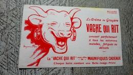Buvard La Créme De Gruyère Vache Qui Rit Benjamin Rabier - Buvards, Protège-cahiers Illustrés