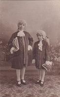 Costume Habillement Ancien Carte Photo Photo Vigor 111 Rue De Paris Poissy - Poissy