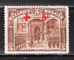 162*  Croix-Rouge - UNE Des 2 Bonnes Valeurs - MH* - LOOK!!!! - 1918 Rode Kruis