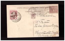 Vaticano -  21 3 1937 Cartolina Postale Spedita Da Roma A Lippstadt  ( Nordrhein-Westfalen ) - Vatican