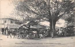Ceylon  / Colombo - 180 - Charettes Voitures Et Pousse Pousse - Sri Lanka (Ceylon)
