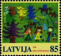 Latvia 2006 Mi 674 EUROPA 2006 - Letonia