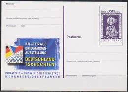 BRD Ganzsache PSo 70 OSTROPA 2000 Münchberg  Ungelaufen ( D 6384 ) Günstige Versandkosten ( - BRD