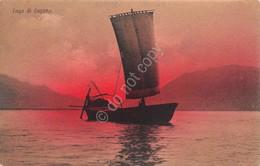 Cartolina Lago Di Lugano Illustrata Ed. Brummer - Non Classificati