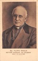 Cartolina Filippo Rinaldi Rettore Maggiore Dei Salesiani 1924 - Cartoline