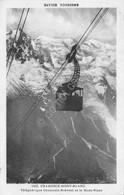 Cartolina Chamonix Mont Blanc Telepherique Chamonix Mont Blanc Funivia 1933 - Non Classificati