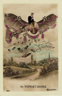 Un Souvenir De Vierset Barse 1911 En Avion - Modave