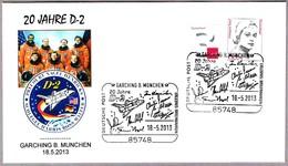 20 Años VUELO D-2 Space Shuttle COLUMBIA STS-55. Garching B. Munchen 2013 - Astronomùia