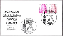 XXXVI Sesion ACADEMIA OLIMPICA ESPAÑOLA. Sevilla, Andalucia, 2004 - Juegos Olímpicos