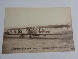 """Aéroplane Caudron ,type  C-23 """"aérobus Paris-Bruxelles  """" - 1919-1938: Entre Guerres"""