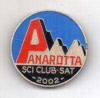Italia - 2002 - Trento - Medaglia Sci Club Sat Panarotta - Colorata - Vedi Foto - (MW1945) - Italia