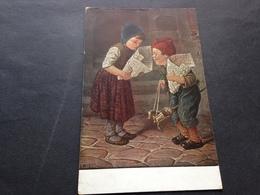 H. KAULBACH - HAST DU MEHR ? - 26.3.18 - FELDPOST - Nach COBURG - Künstlerkarten