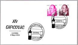 XIV Exficoluc - VINO - WINE. Lucena, Cordoba, Andalucia, 2004 - Vinos Y Alcoholes