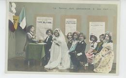 ENFANTS - LITTLE GIRL - MAEDCHEN - Jolie Carte Fantaisie Enfants Cérémonie De Mariage - Portraits
