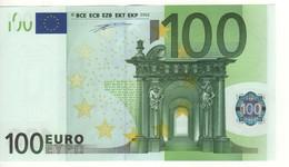"100 EURO  ""P""  Olanda     Firma Duisenberg    G 002 F2  /  FDS - UNC - EURO"