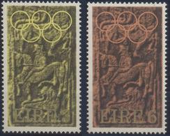 //// IRLANDE Yvert 283 / 284** Michel 281 / 282** - Ete 1972: Munich