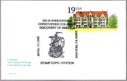 500 Aniv. DESCUBRIMIENTO DE AMERICA - 500th Anniv. Discovery Of America. Anaheim CA 1992 - Christopher Columbus