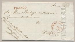 Nederland - 1837 - ZWOLLE En FRANCO Op Compleet Signalement Gezocht Persoon - Nederland