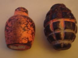 2 Grenades - Armes Neutralisées