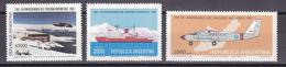 Argentina 1981 Antarctic Treaty 3v  ** Mnh (41435) - Argentinië