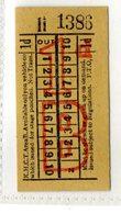 BUS / TRAM TICKETS - K.H.C.T. AREA B - ADVERTISEMENT IN THE BACK - T505 - Biglietti Di Trasporto