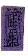 BUS / TRAM TICKETS - K.H.C.T. AREA A - ADVERTISEMENT IN THE BACK - T506 - Biglietti Di Trasporto