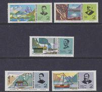 Argentina 1975 Landscapes (with Antarctica - Orcades Del Sur) 5v ** Mnh (41435D) - Argentinië