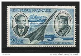 "FR Aerien YT 44 (PA) "" Mermoz & Saint-Exupery "" 1970 Neuf** - Poste Aérienne"