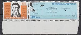 Argentina 1982 Malvinas Military Command 2v (se-tenant) (corner) ** Mnh (41435H) - Argentinië