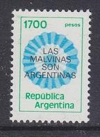 Argentina 1982 Las Malvinas Son Argentinas 1v ** Mnh (41436I) - Argentinië