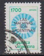 Argentina 1982 Las Malvinas Son Argentinas 1v Used (41436J) - Argentinië