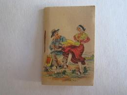 Petit Calendrier Année 1945 Illustrateur Auvergne - Calendriers
