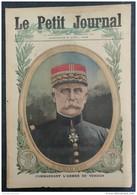 1916 - WW1 - LE GENERAL PETAIN COMMANDANT L'ARMÉE DE VERDUN  - MITRAILLEUSES HÉROIQUES - LES INSTANTANÉS DE LA  GUERRE - 1914-18
